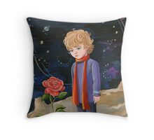 Little prince Throw Pillow