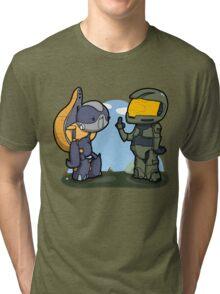 Poor missunderstood grunt... Tri-blend T-Shirt
