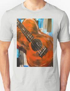 guitar (warm) Unisex T-Shirt