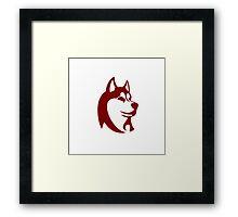 Husky  Framed Print
