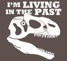Living in the Past with Allosaurus One Piece - Short Sleeve