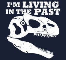 Living in the Past with Allosaurus Kids Tee