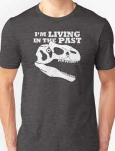 Living in the Past with Allosaurus T-Shirt