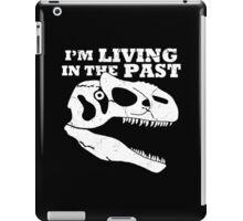 Living in the Past with Allosaurus iPad Case/Skin