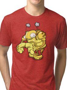 Exterminate... Please...? Tri-blend T-Shirt