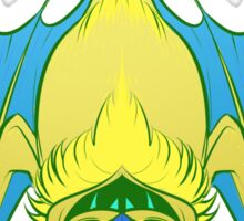 Vampire Bat (Yellow) Sticker