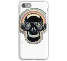 Jazzed up skull iPhone Case/Skin