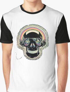Jazzed up skull Graphic T-Shirt