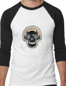 Jazzed up skull Men's Baseball ¾ T-Shirt