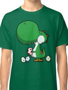 Egg Chuckin' Dinosaur Classic T-Shirt