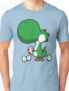 Egg Chuckin' Dinosaur Unisex T-Shirt