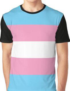 Transgender Flag Graphic T-Shirt