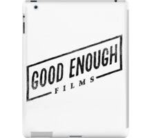 Good Enough Films iPad Case/Skin