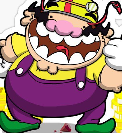 Greedy loveable fatso! Sticker
