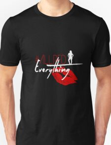 """WWE NXT EVA MARIE """"ALL RED EVERYTHING"""" Unisex T-Shirt"""