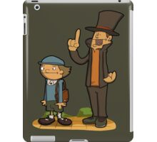 A true gentleman! iPad Case/Skin