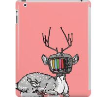 Television Deer iPad Case/Skin