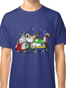 I see 'em up ahead. Let's rock 'n' roll! Classic T-Shirt