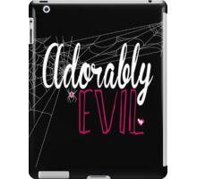 "WWE FORMER DIVA AJ LEE ""ADORABLY EVIL"" iPad Case/Skin"