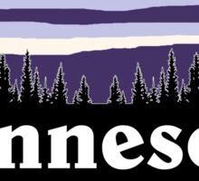 Purple Minnesota Sticker