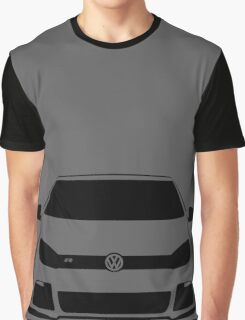 VW MK6 Golf R Front View Graphic T-Shirt