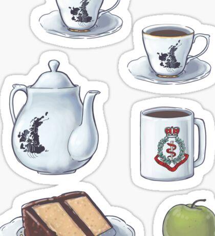 221Tea Sticker