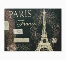 Paris - France - Script One Piece - Short Sleeve