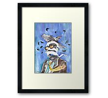 You Are Losing Your Head/ORIGINAL PAINTING Framed Print