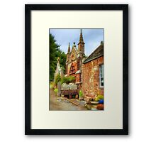 Delgatie Castle - Folly 2 (near Turriff, in Aberdeenshire, Scotland) Framed Print