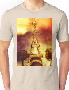 eifel tower (sepia) Unisex T-Shirt