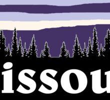 Purple Missouri Sticker