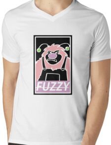 FUZZY Mens V-Neck T-Shirt