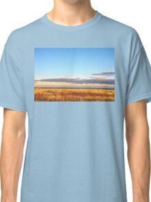 Sunset on Golden Field - Aberdeenshire, Scotland Classic T-Shirt