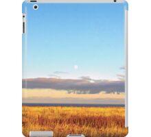 Sunset on Golden Field - Aberdeenshire, Scotland iPad Case/Skin
