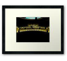 Lights, Camera, Action! Framed Print