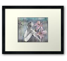 Justin's Lilie Framed Print