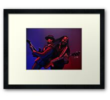 Living Colour Painting Framed Print