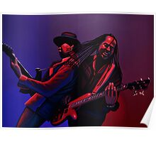 Living Colour Painting Poster