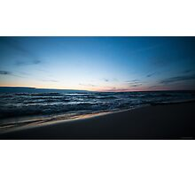 Beautiful Lake Michigan Sunset Photographic Print