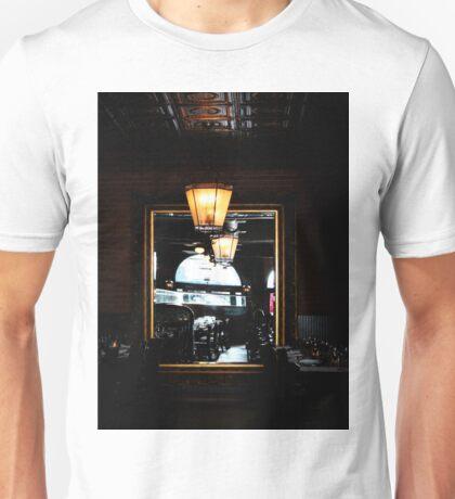 Mirror In Restaurant Unisex T-Shirt