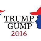Trump - Gump 2016 by Diabolical