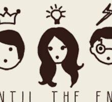 """Harry Potter """"Until the end"""" illustration  Sticker"""