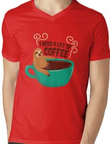 need a lot of coffee Mens V-Neck T-Shirt