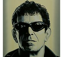 Lou Reed Painting Photographic Print