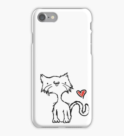 stretch the cat iPhone Case/Skin