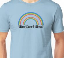 Double Rainbow Unisex T-Shirt