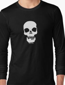 The Venture Brothers - White Skull Long Sleeve T-Shirt