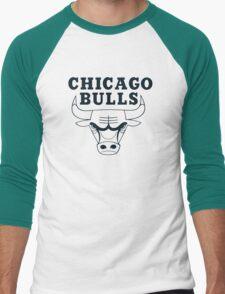 chicago bulls Men's Baseball ¾ T-Shirt