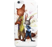 Nick and Judy Zootopia iPhone Case/Skin