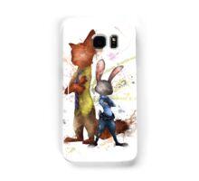Nick and Judy Zootopia Samsung Galaxy Case/Skin